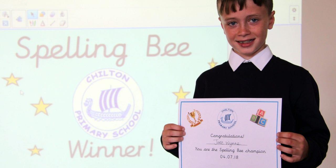 Spelling Bee Gets Pupils Buzzing