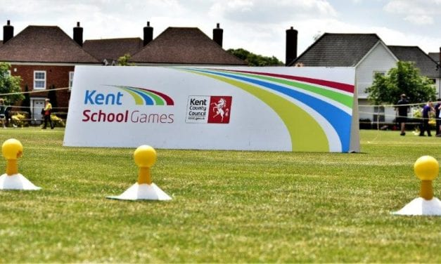 UK'S TOP SPORT STARS INSPIRE KENT'S YOUNG SCHOOL CHILDREN AT THE 10TH ANNIVERSARY KENT SCHOOL GAMES