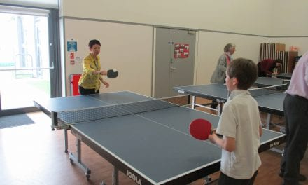 Teachers have to accept pupils are better at ping pong!