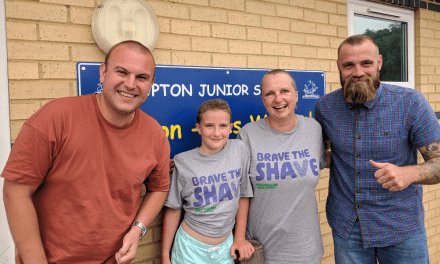 Generous Support for Seren's Charity Head Shave