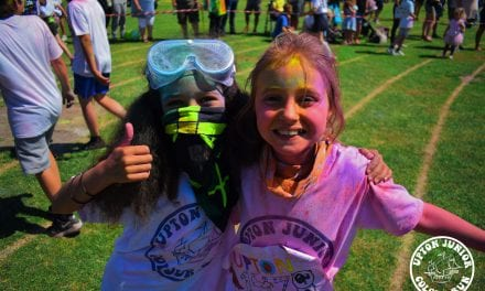 Charity Colour Run Champs