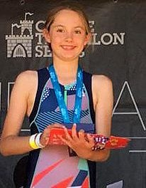 Top Triathlon Performance by Amazing Grace