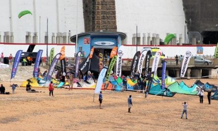 Young Kitesurfers Breeze Into Ramsgate