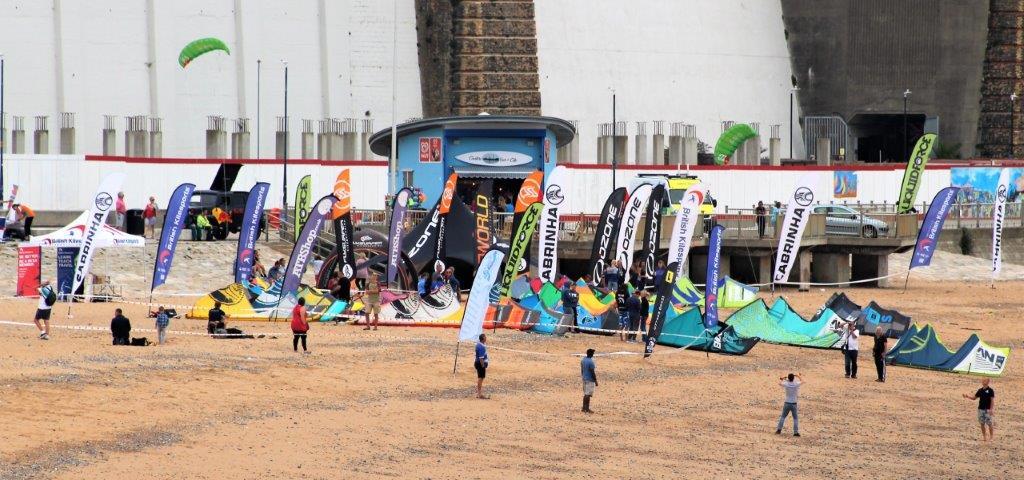 Young Kitesurfers Breeze Into Ramsgate