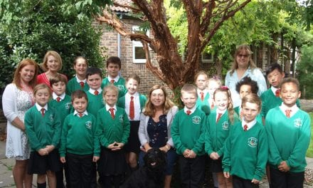 St. Laurence C of E Junior Academy celebrates their Good Ofsted Result
