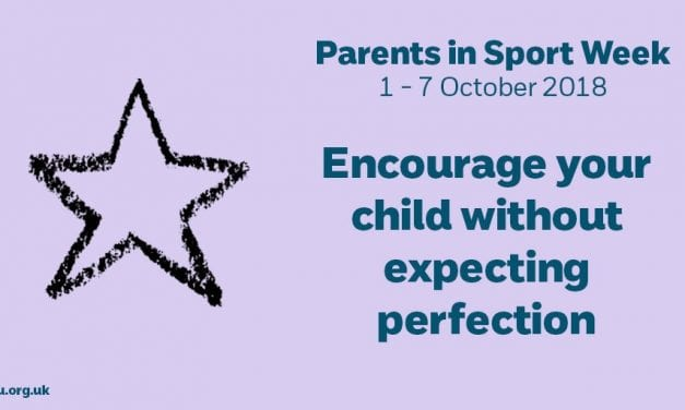 Schools And Sports Clubs Have Opportunity To Take Part In 'CPSU Parents in Sport Week 2018'