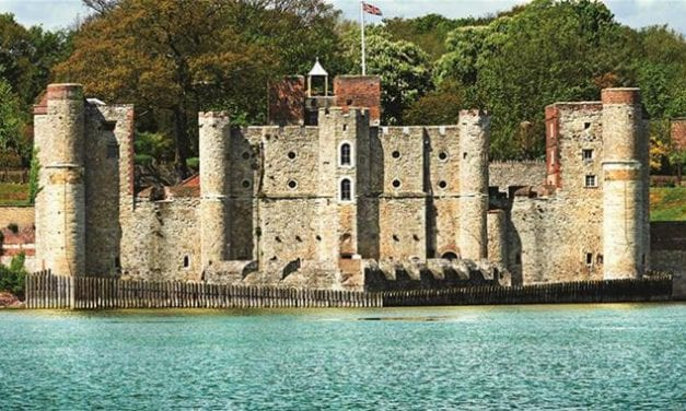 Young Reporter, Nathan, visits Upnor Castle