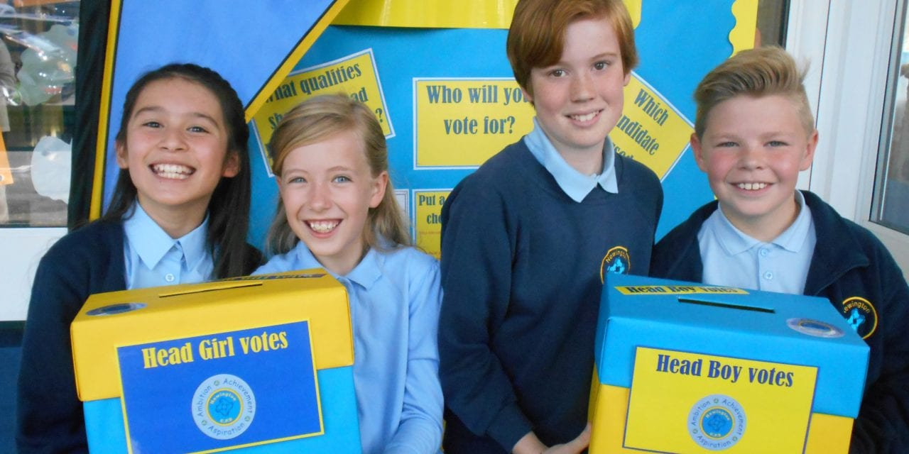Head Pupils Are Elected At Newington CPS