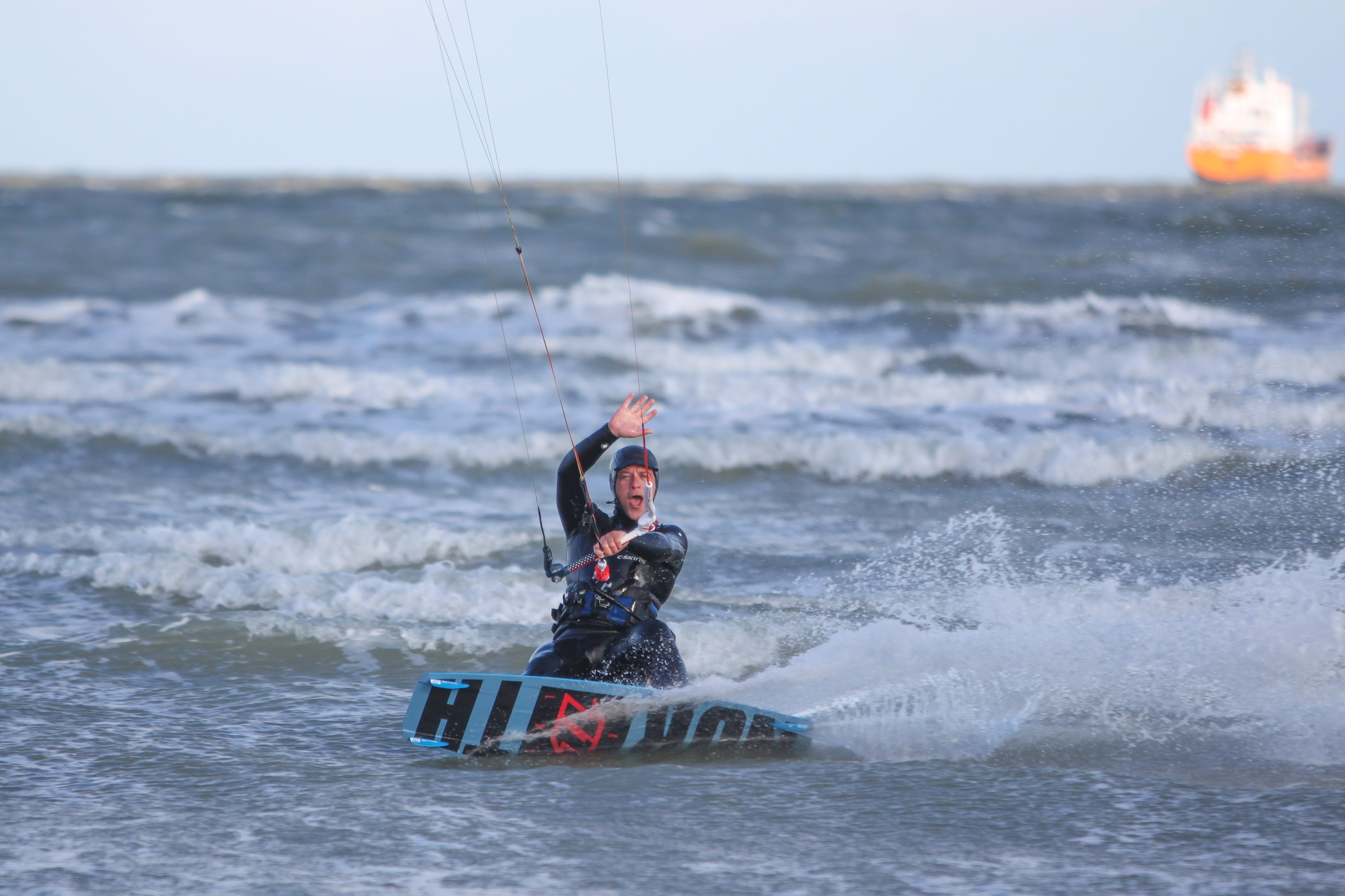 Kite Surfing Halloween Downwinder