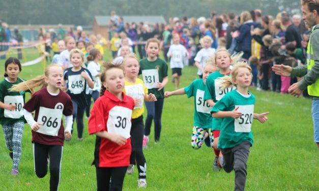 Young Athletes Excel In Thanet Primary Schools' Cross Country Event At Quex Park