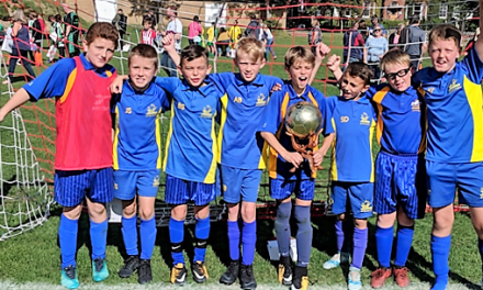 Brilliant Start for Upton Soccer Stars