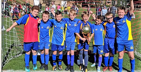 Brilliant Start for Upton Soccer Stars
