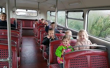 Kids Get Bus-y!