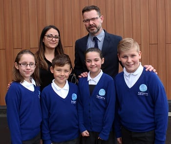 New Head Pupils at RAPS