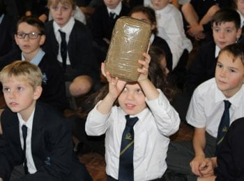 Pupils Learn How Experts Tackle Illegal Drug Trafficking