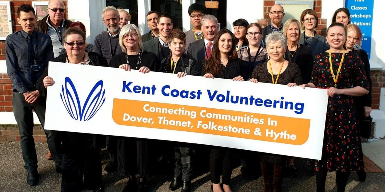 LAUNCH OF NEW VOLUNTEER SERVICE: Kent Coast Volunteering