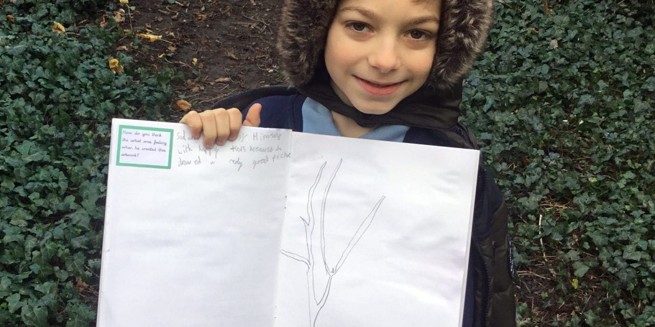 Trees Inspire Pupils Artwork