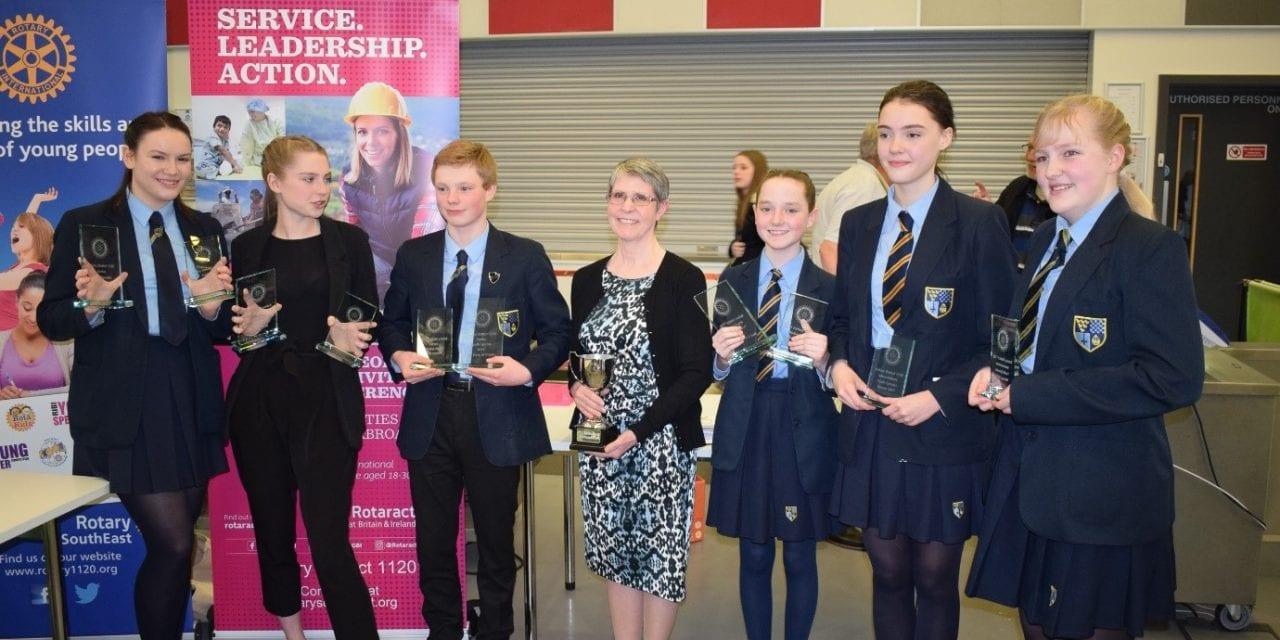 District 1120 Youth Speaks Winners