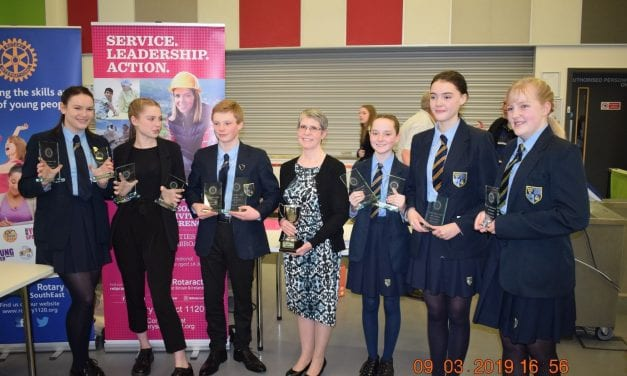 District 1120 Youth Speaks Winners