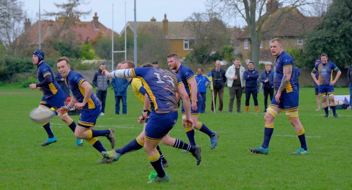 THANET WANDERERS RUFC 22 – 14 DOVER RFC