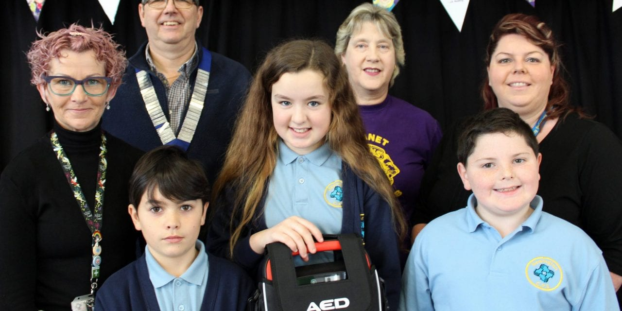 Cardiac Machine installed at Newington Community Primary School