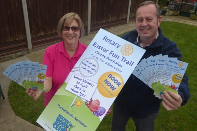 Book Now for Charity Egg Trail