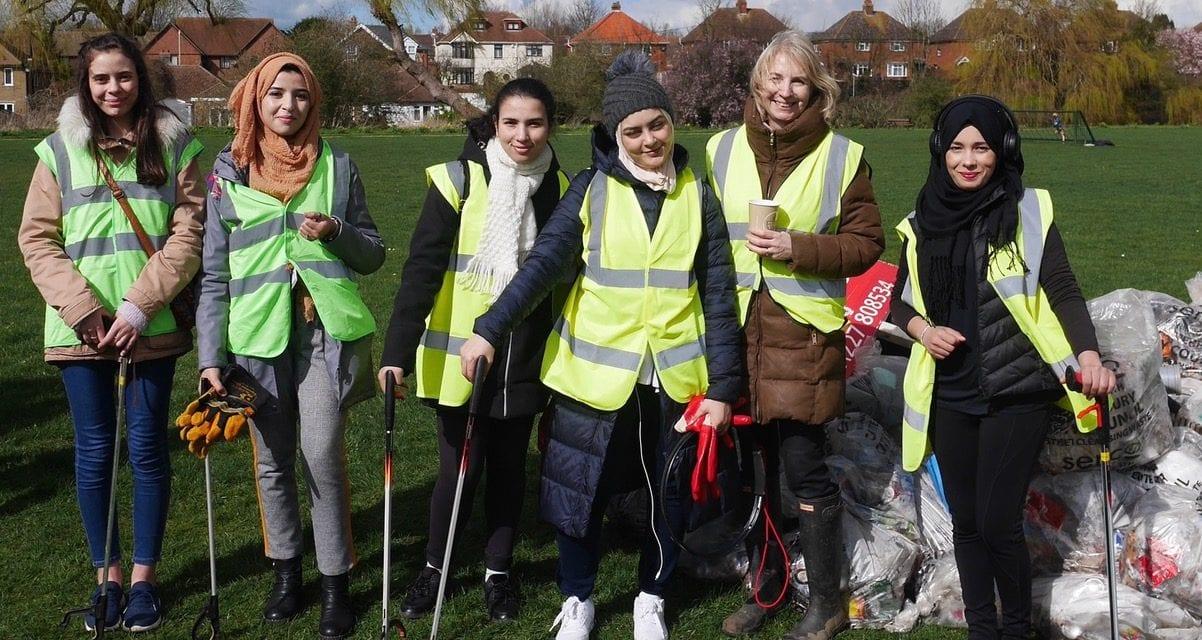 Huge Community clean-up in Kingsmead
