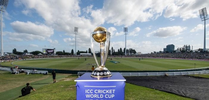 Cricket World Cup Trophy Comes to Canterbury