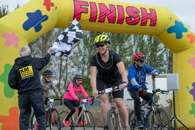 Charity Ride Goes Down a Storm