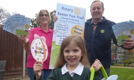 Easter Trail Promises Chocolate Rewards