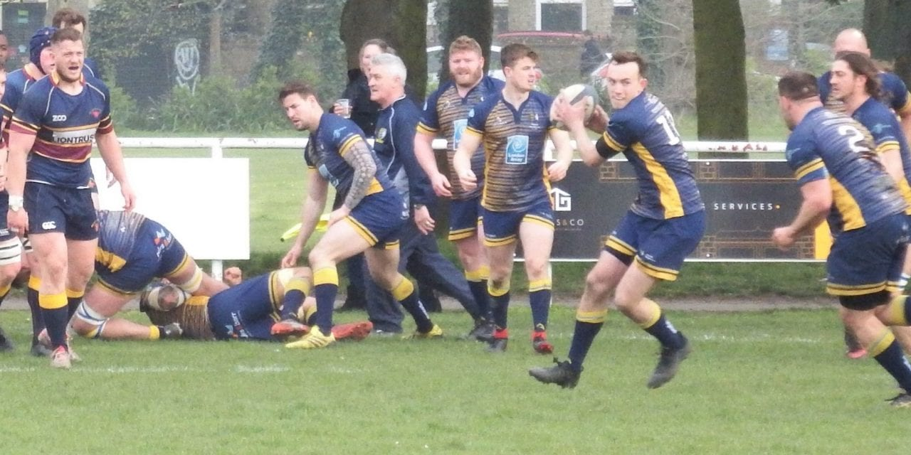 THANET WANDERERS 26 – 10 OLD COLFEIANS RFC