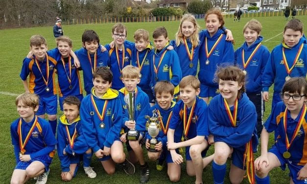 Rugby Champions at Upton Junior School!