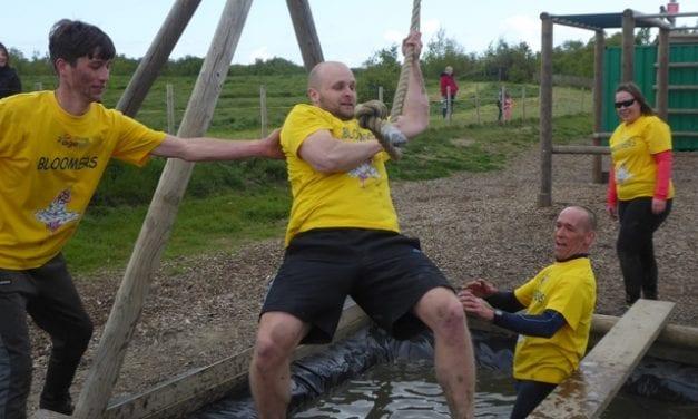 Assault course raises £3.5K for charities