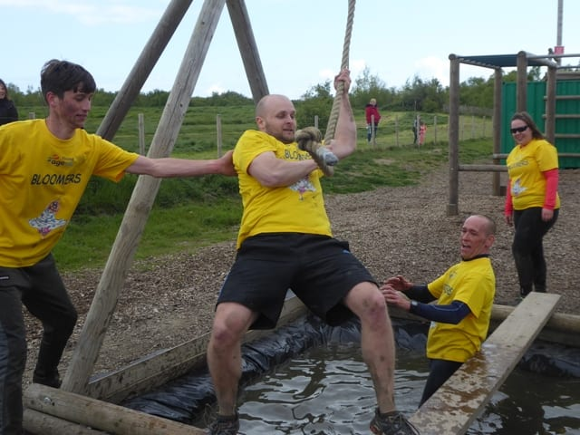 Assault course raises £3.5K for charities