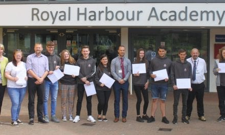 IB celebrations at The Royal Harbour Academy.