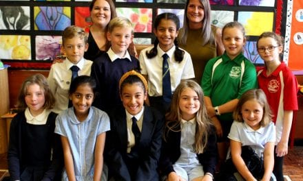 Upton's Public Speaking Stars Shine