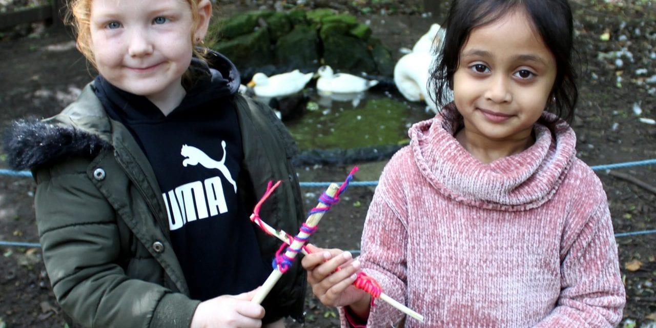 Tree-mendous Forest School Fun