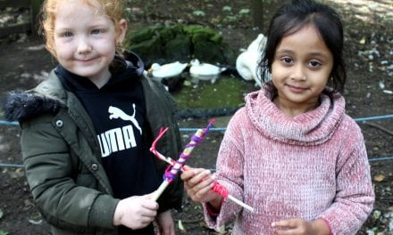 Tree-mendous Forest School Fun