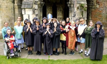 History Comes Alive for Upton 'Pilgrims'