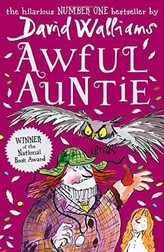 Young Reporter Sophie reviews David Walliams book Awful Auntie