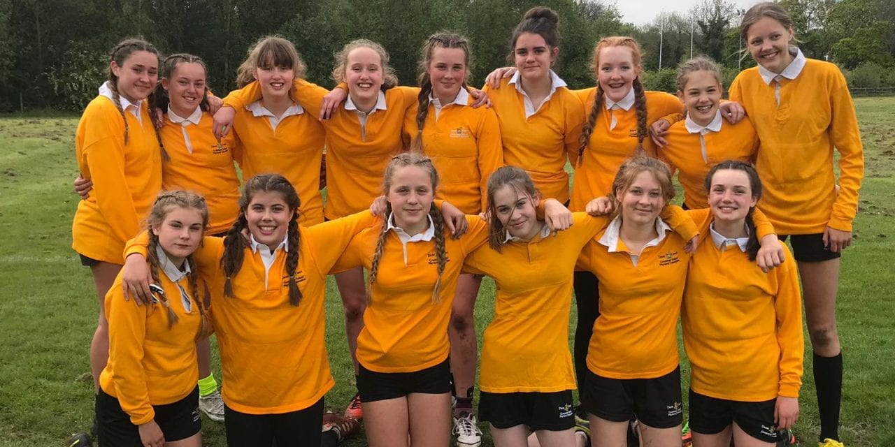 Dane Court girls in rugby national finals tournament
