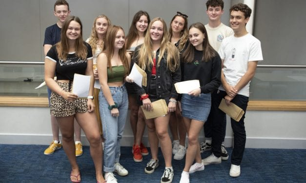 Dane Court Grammar School GCSE results to celebrate
