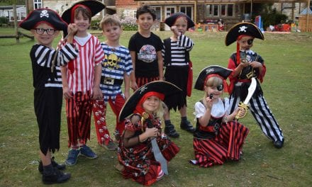 International Talk like a Pirate Day at Northbourne Park School
