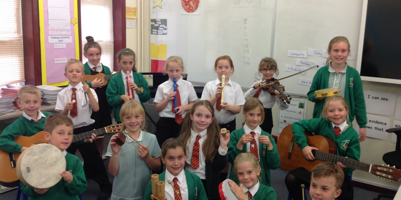Music Mark Award for St Laurence in Thanet Junior Academy