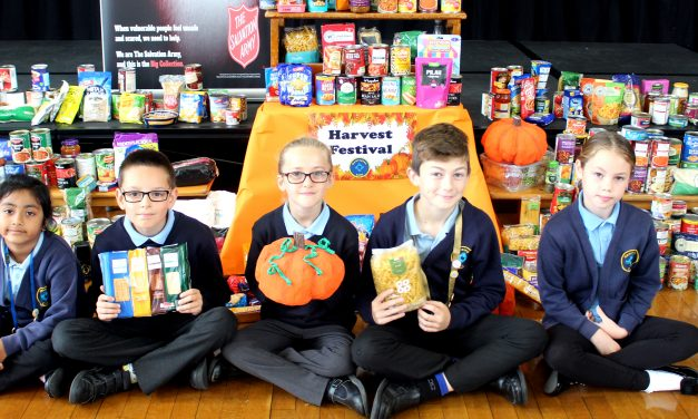 The Helping Harvest at Newington