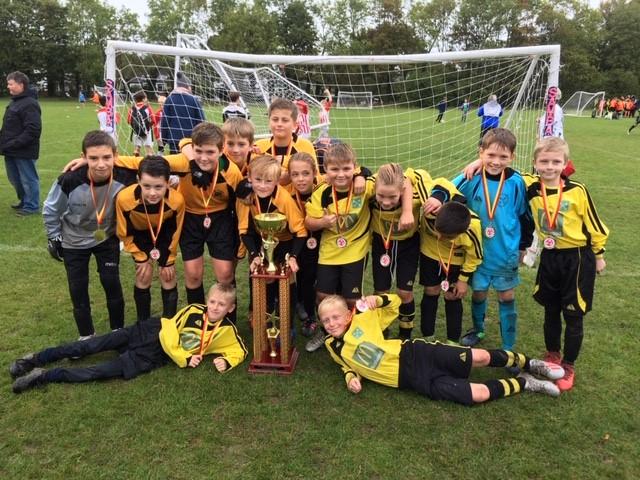 St Peters Super Saturday Football Tournament Success.