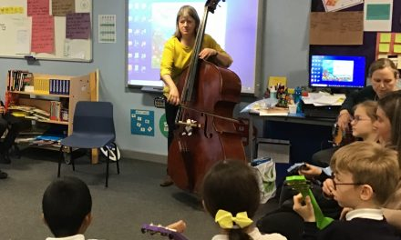 Music Makes Smiles at Laleham Gap School