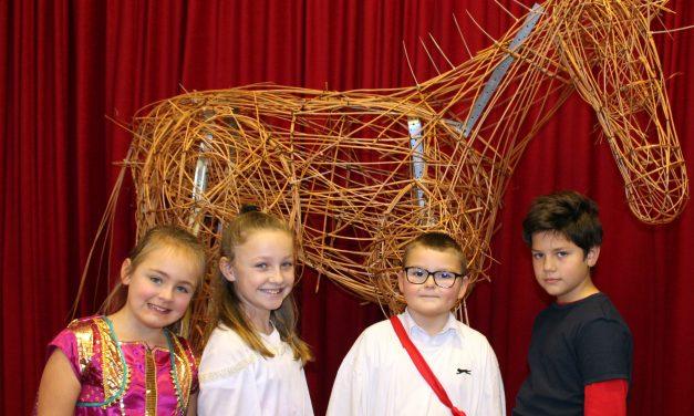 Ancient Greeks Create Trojan Horses at Upton