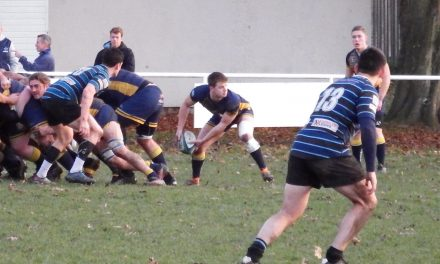 THANET WANDERERS FIRST XV 22 – 33 OLD ALLEYNIANS RUGBY