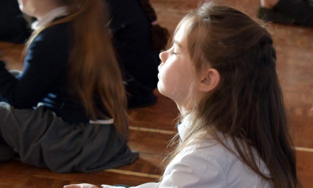Pupils Embrace Lessons In Calmness